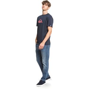 Quiksilver Comp Logo Kurzarm T-Shirt Herren navy blazer navy blazer