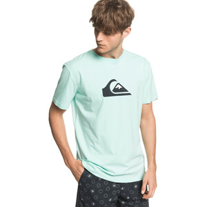 Quiksilver Comp Logo Kurzarm T-Shirt Herren beach glass beach glass