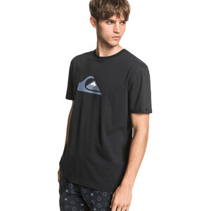 Quiksilver Comp Logo Kurzarm T-Shirt Herren black black