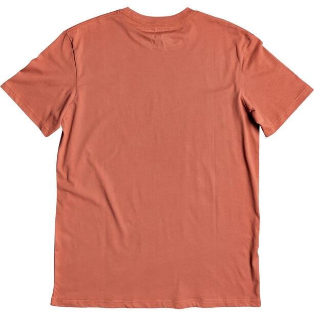Quiksilver Words Remain T-shirt Heren, oranje