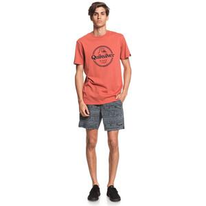 Quiksilver Words Remain Kurzarm T-Shirt Herren redwood redwood