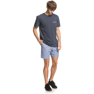 Quiksilver Lazy Sun Kurzarm T-Shirt Herren blue nights blue nights