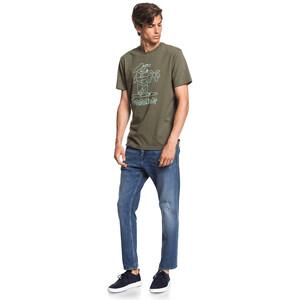 Quiksilver Turning Heads Kurzarm T-Shirt Herren kalamata kalamata