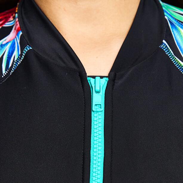 Zoggs Hybrid Tropics Combinaison courte Femme, black/multi