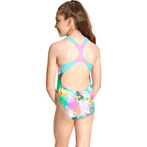 Zoggs Montage Rowleeback Swimsuit Girls multi multi