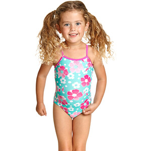 Zoggs Petal Magic Yaroomba Floral Swimsuit Girls multi multi