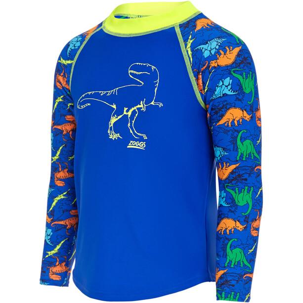 Zoggs Dino Land Pitkähihainen UV-suoja Pusero Pojat, blue