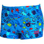 Zoggs Sea Life Hip Racer Badehose Jungen blue/multi