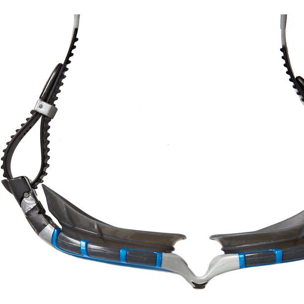 Zoggs Predator Flex Polarized Ultra Reactor Lunettes de protection M, blue/metallic silver/copper