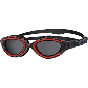 Zoggs Predator Flex Polarized Brille L schwarz/rot schwarz/rot