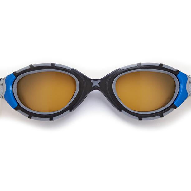 Zoggs Predator Flex Polarized Ultra Brille L schwarz/blau