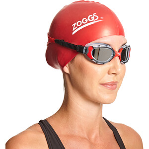 Zoggs Predator Flex Titanium Brille S frame/red/mirror frame/red/mirror