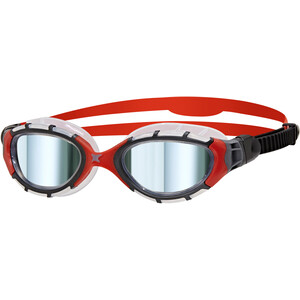 Zoggs Predator Flex Titanium Brille L grau/rot grau/rot