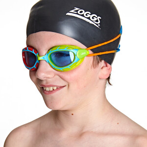 Zoggs Predator Goggles Kinder red green/blue orange/tint red green/blue orange/tint