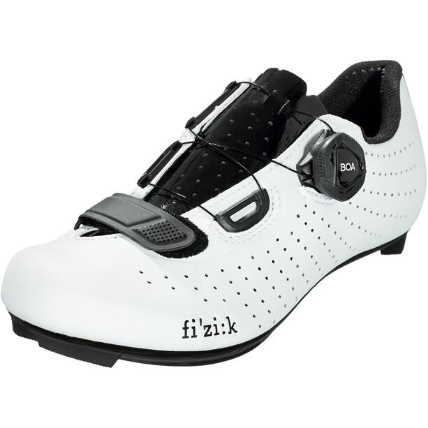 Fizik Tempo R5 Overcurve Chaussures de cyclisme, blanc