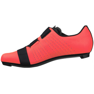 Fizik Tempo R5 Powerstrap Cycling Shoes コーラル/ブラック