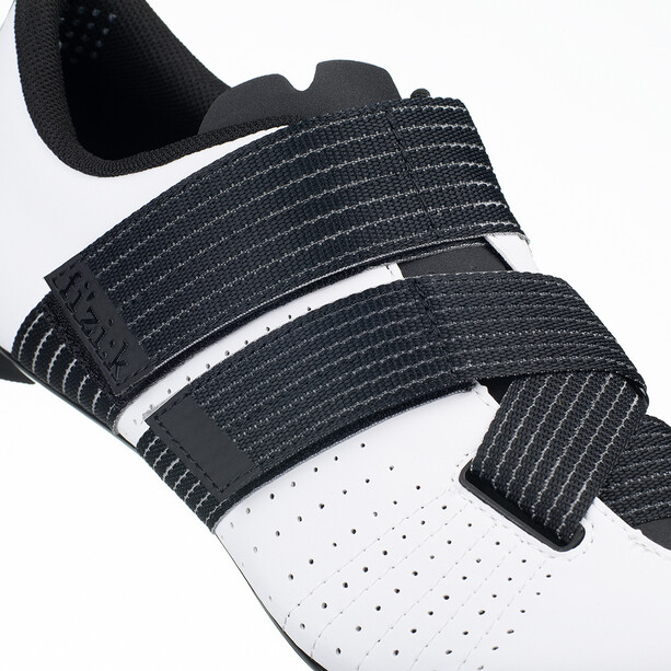 Fizik Tempo R5 Powerstrap Fahrradschuhe white/black