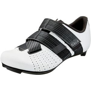 Fizik Tempo R5 Powerstrap Zapatillas Ciclismo, blanco blanco