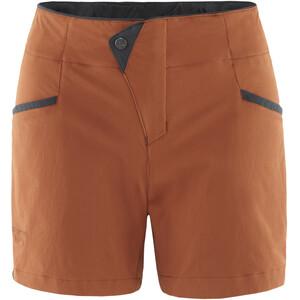 Klättermusen Vanadis 2.0 Shorts Dame rust rust