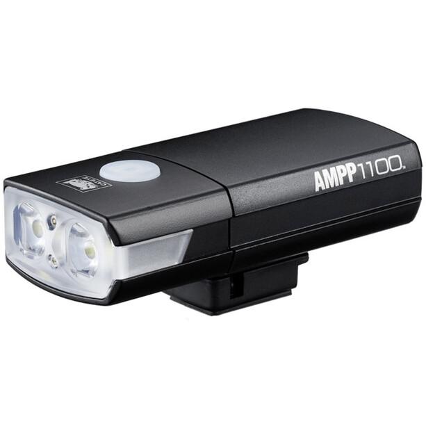 CatEye Ampp 1100 HL-EL1100RC Helmlampe inkl. Mount/USB Kabel black