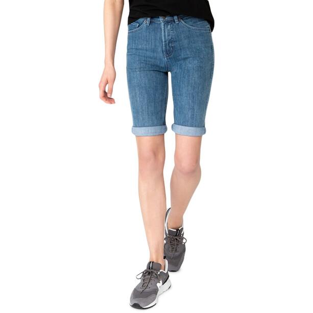 DUER Performance Denim Commuter Shorts Women indigo 25