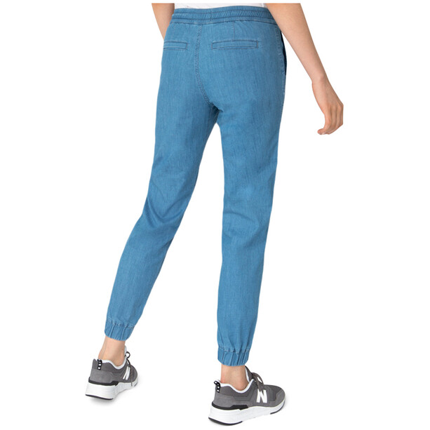 DUER Weightless Denim Jogginghose Damen indigo 25