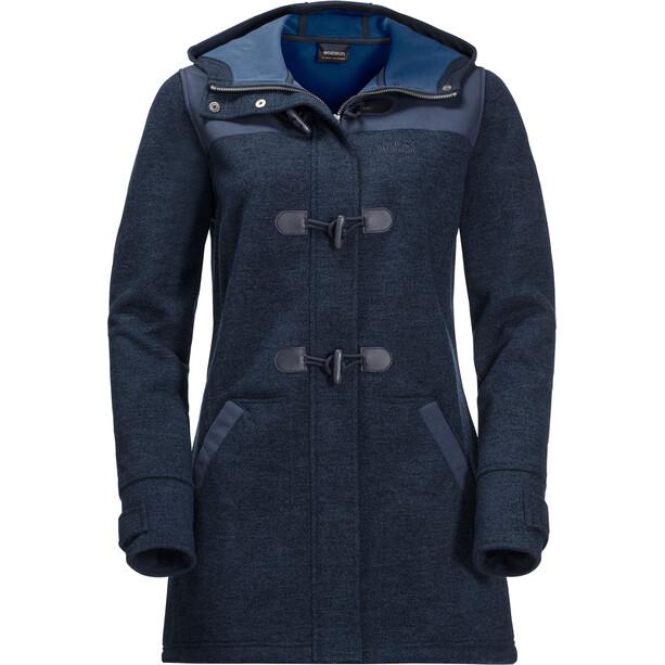 Jack Wolfskin Edmonton Mantel Damen blau