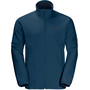 Jack Wolfskin Norther Pass Fleecejacke Herren poseidon blue