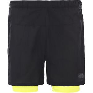 The North Face ATH Flight Better Than Naked Concept 2in1 Shorts Men tnf black/tnf lemon tnf black/tnf lemon