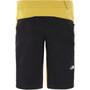 The North Face Climb Shorts Men bamboo yellow/tnf black