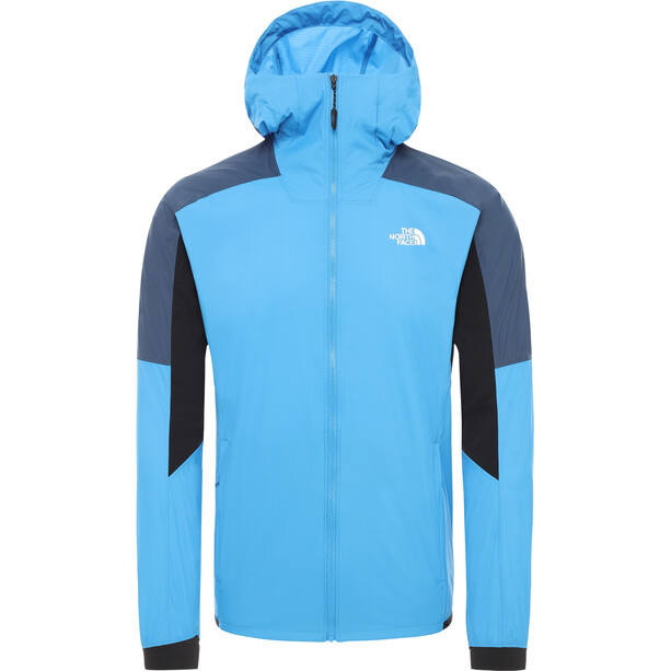 The North Face Impendor Light Wind Jacket Men clear lake blue/blue wingteal