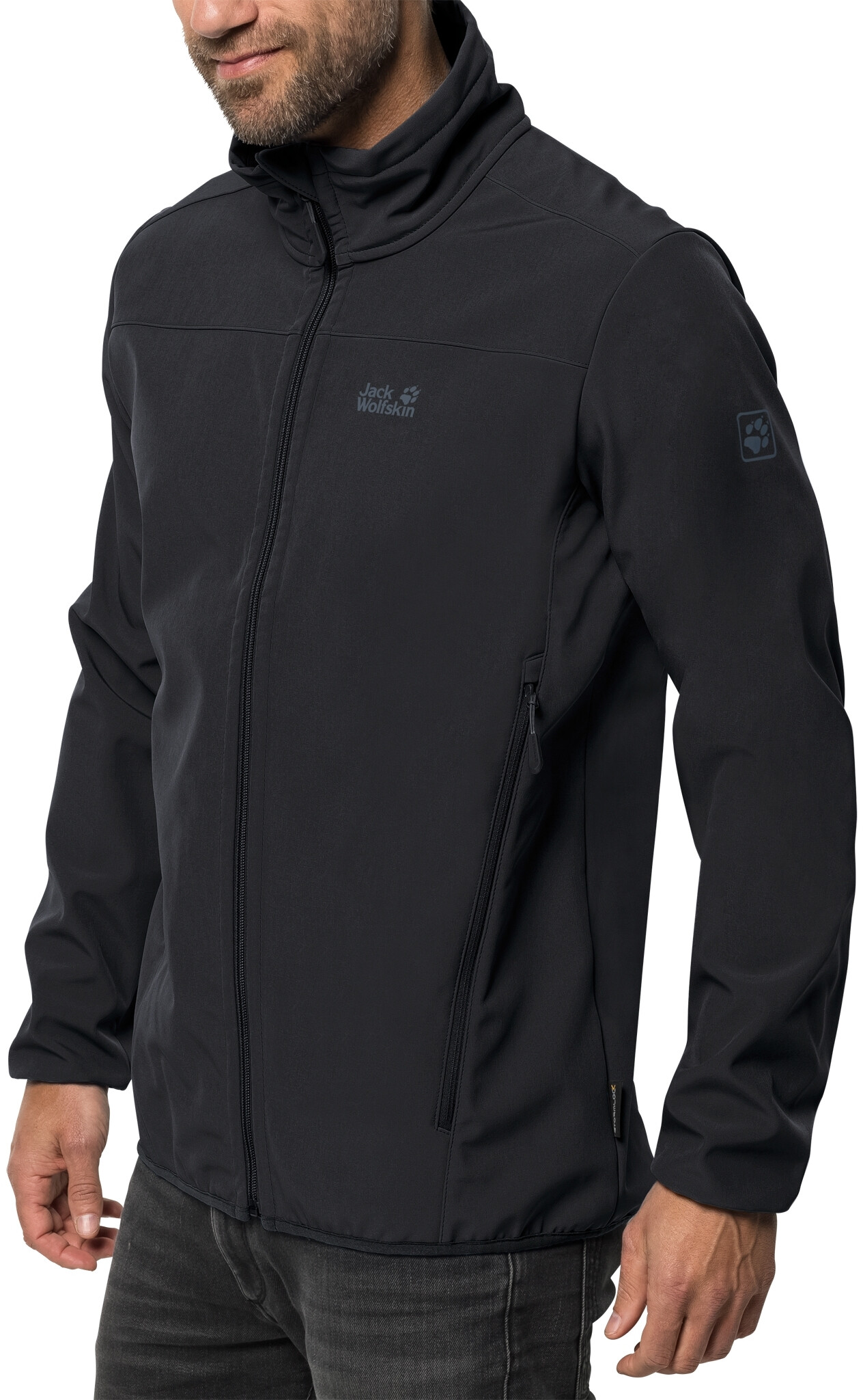 Jack Wolfskin Northern Point Softshell Jacke Herren black
