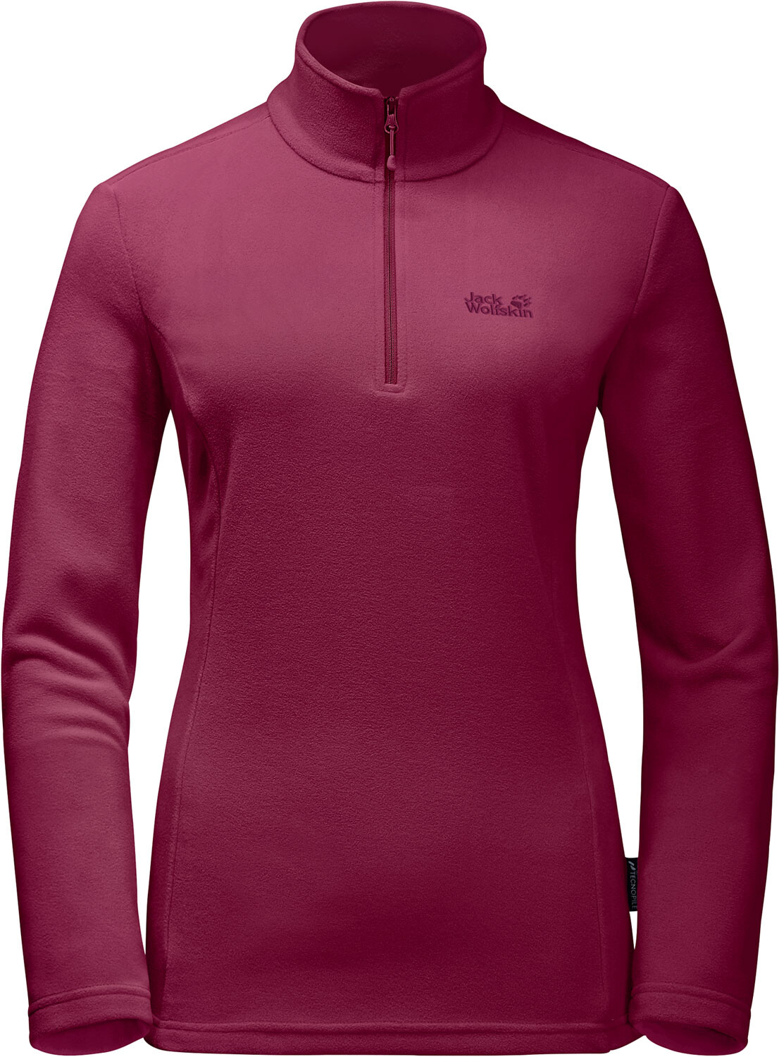 Jack Wolfskin Gecko Fleece Pullover Damen dark ruby