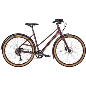 Kona Coco SE Gloss Deep Red / Metallic Gold Decals Gloss Deep Red / Metallic Gold Decals