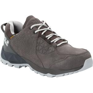 Jack Wolfskin Cascade LT Texapore Low-Cut Schuhe Damen dark steel dark steel