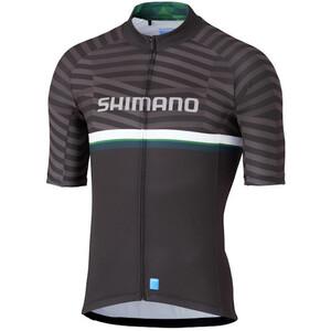 Shimano Shimano Team Kurzarm Trikot Herren black/green black/green