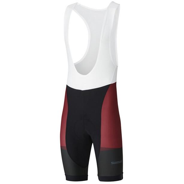 Shimano Team Trägershorts Herren red