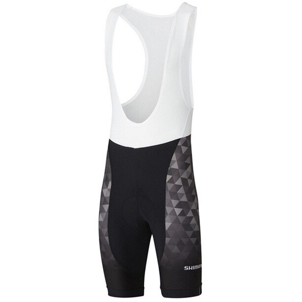 Shimano Team Bib Shorts Men black