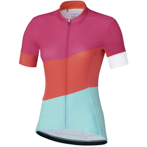 Shimano Sumire Maillot Manches courtes Femme, pink
