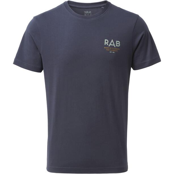 Rab Stance Sunrise T-shirt Homme, bleu