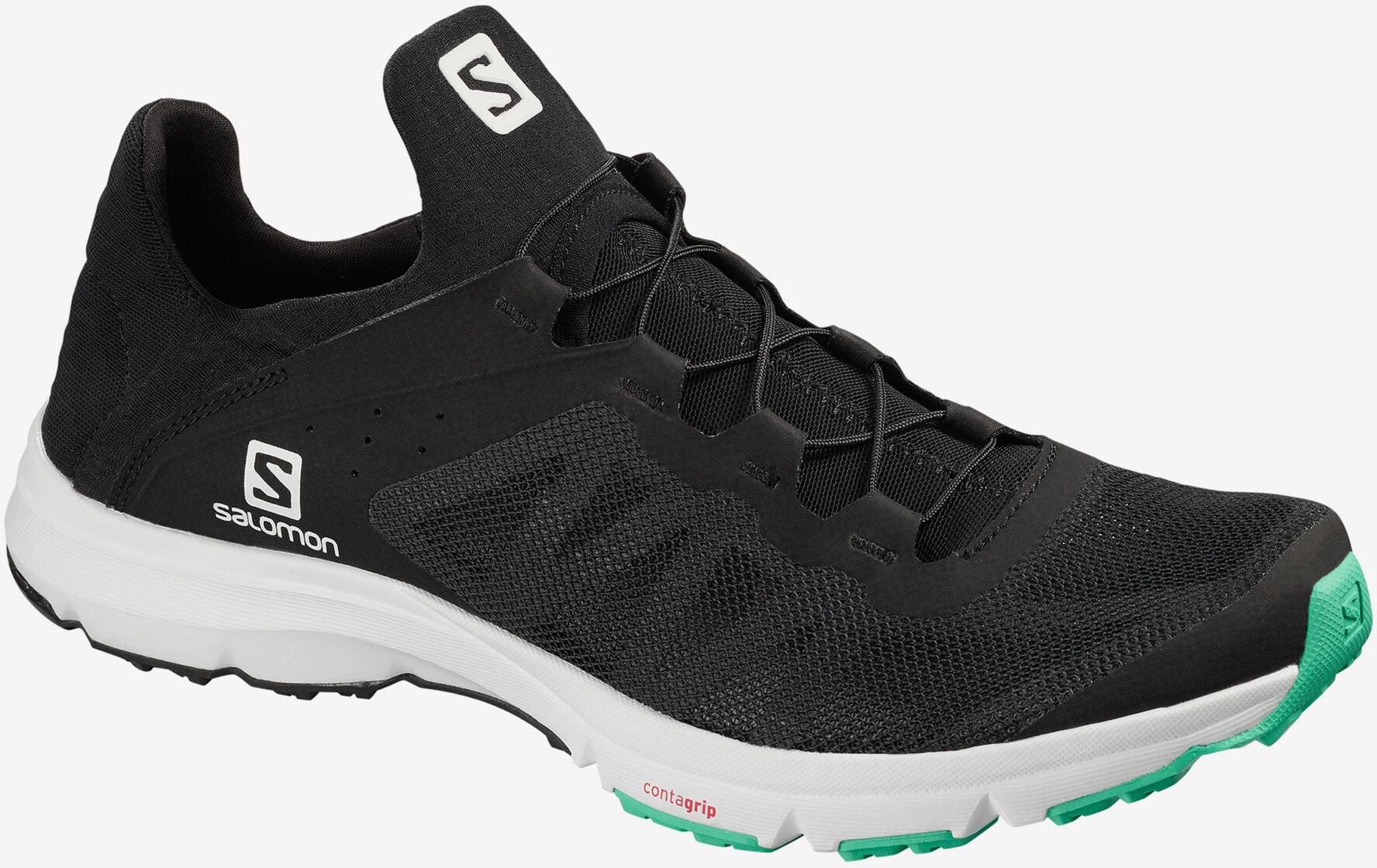 Salomon Amphib Bold Schuhe Damen blackwhiteelectric green