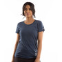 PEARL iZUMi Graphic T-shirt Femme, heather dusk happy pace