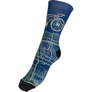 PEARL iZUMi Pro Tall Socks Men navy city bike navy city bike