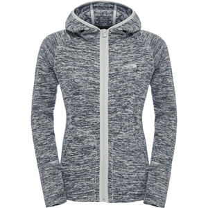 The North Face Nikster Full-Zip Hoodie Damen high rise grey high rise grey