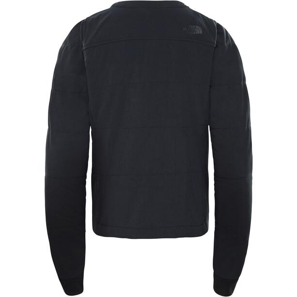 The North Face Mountain Collarless Sweat-shirt zippé Femme, noir