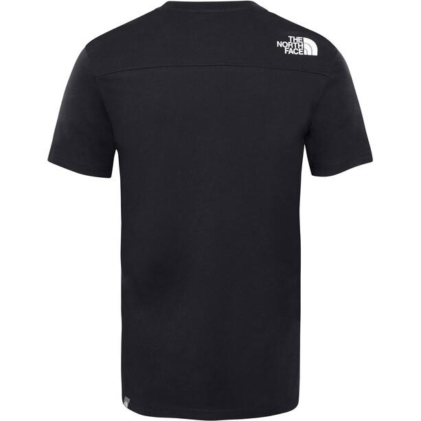 The North Face Light Kurzarm T-Shirt Herren black