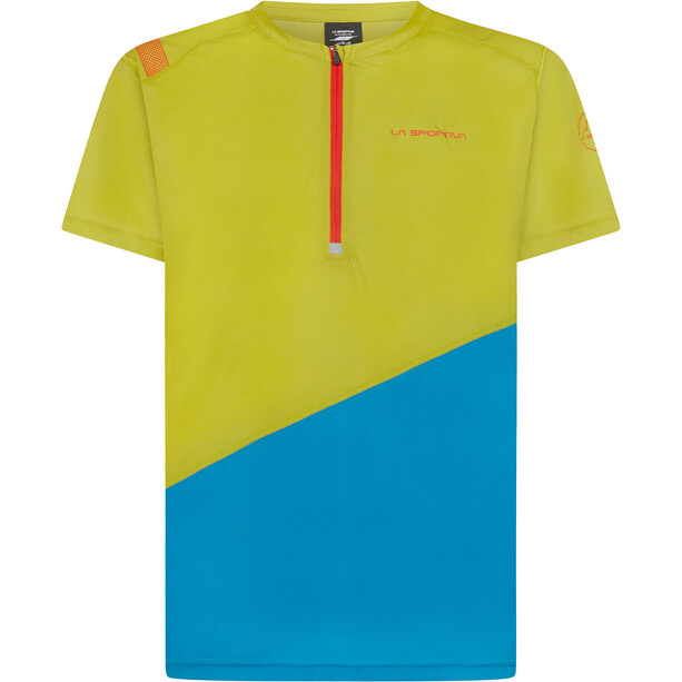 La Sportiva Limitless T-Shirt Herren kiwi/neptune