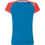 La Sportiva Move T-Shirt Damen neptune/hibiscus