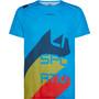 La Sportiva Stream T-Shirt Men neptune/opal