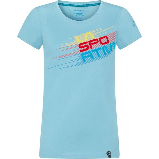 La Sportiva Stripe Evo T-Shirt Women, sininen